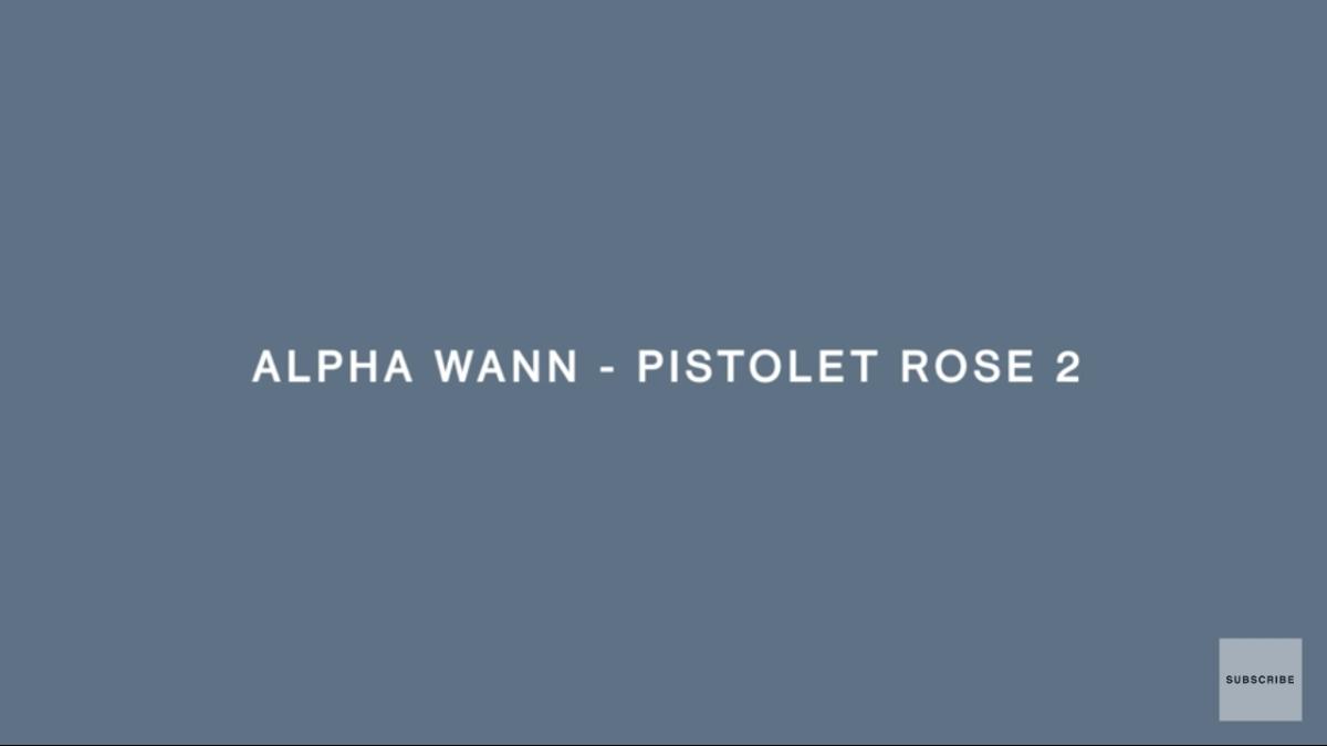 Regardez «#AlphaWann – #PistoletRose2 | #ACOLORSSHOW» sur#YouTube